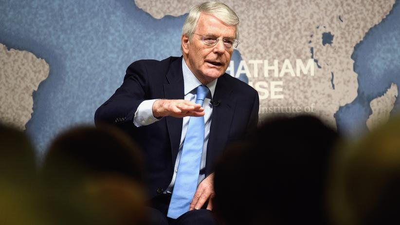 John Major: Britischer Ex-Premier kritisiert Brexit-Rhetorik der Regierung
