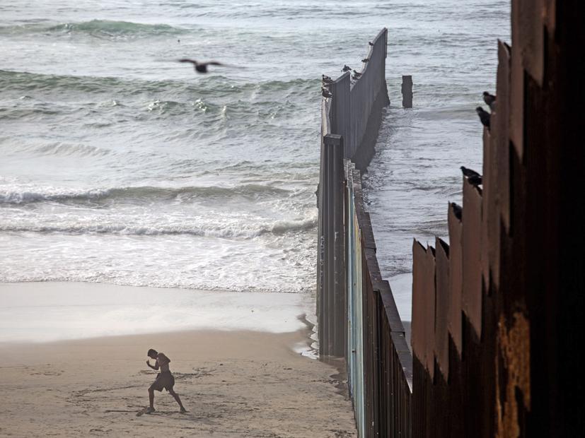 Mauer Zu Mexiko Leben An Der Grenze Zeit Online