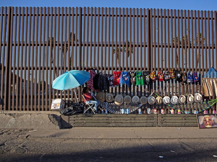 Mauer Zu Mexiko Schon Soll Sie Sein Und Unuberwindbar Zeit Online