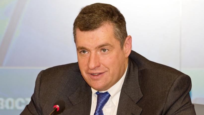 Russland: Der russische Politiker Leonid Sluzki ist Vorsitzender des Auswärtigen Ausschusses im Parlament.