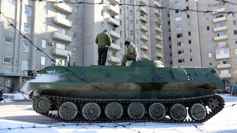 Ukraine-Konflikt: Neuer Anlauf für Waffenruhe in der Ostukraine