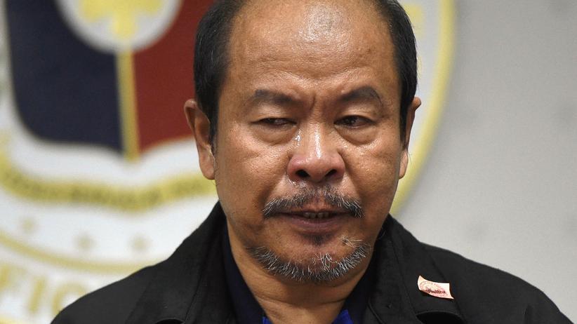 Philippinen: Arturo Lascañas soll vor dem philippinischen Senat gegen den Präsidenten aussagen.