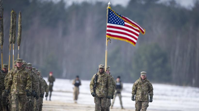 Nato: Amerikanische Soldaten in Polen bei einer Militärübung