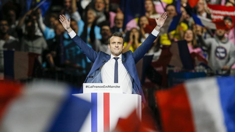 """Emmanuel Macron: """"Er ist ein Typ, mit dem man gern befreundet wäre"""""""