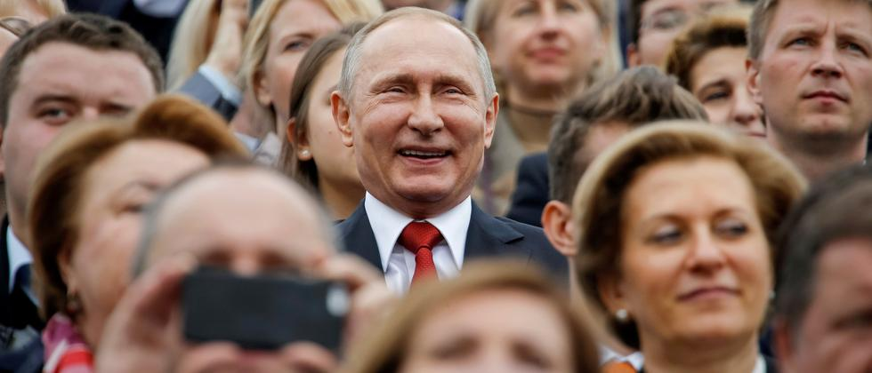 Wladimir Putin in Moskau am 10. September 2016