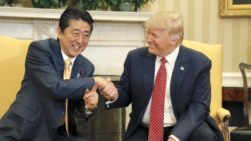 Shinzo Abe Donald Trump Washington