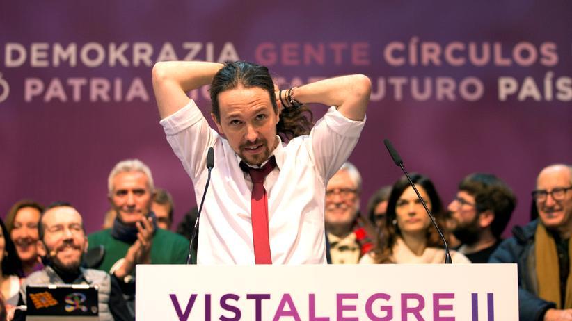 Spanien: Alter und neuer Podemos-Generalsekretär: Pablo Iglesias