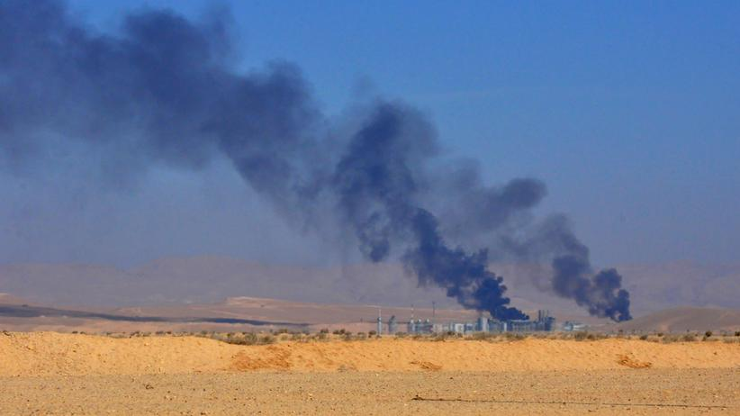 Syrien: Anfang Februar kämpften syrische Regierungstruppen gegen Dschihadisten um Ölfelder bei Homs.