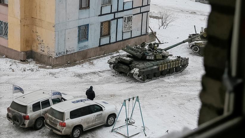 Ukraine-Konflikt: Betreten verboten!