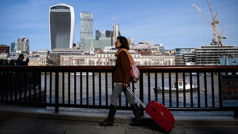 Brexit: Das Themse-Ufer in London, wo Premierministerin Theresa May an diesem Dienstag formal den Brexit-Prozess eingeleitet hat