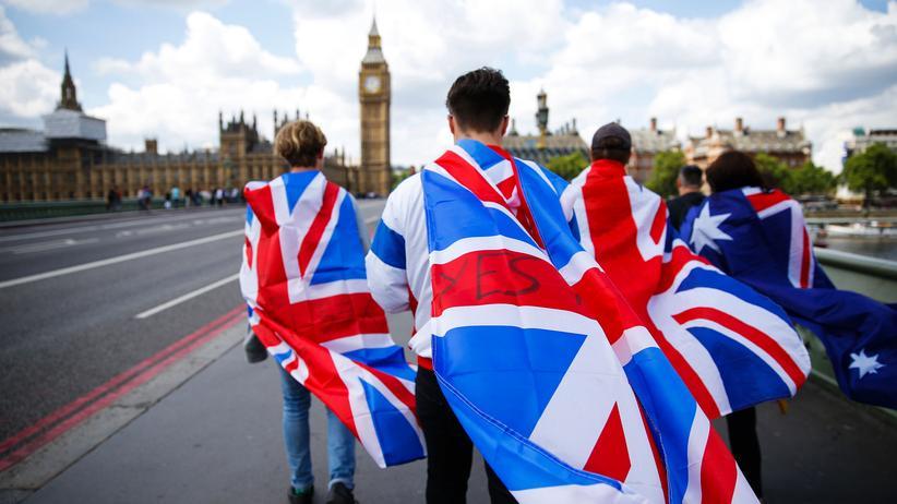 Brexit: Brexit-Befürworter in London