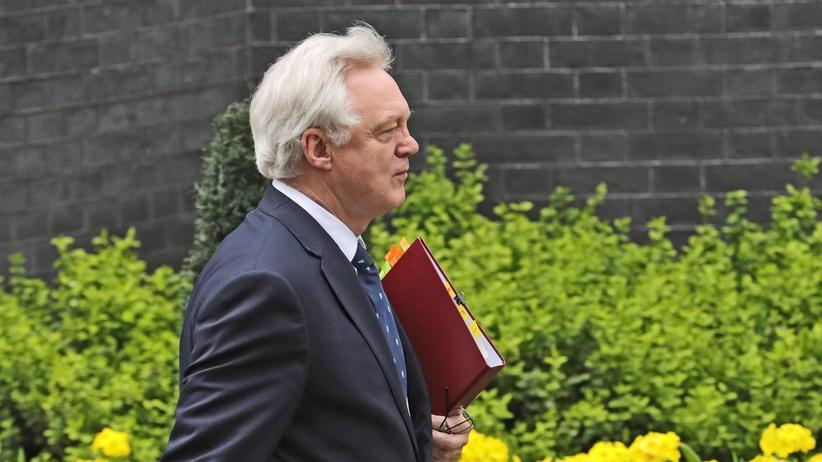 Brexit: David Davis, Minister mit der Aufgabe, den Austritt Großbritanniens aus der EU zu regeln.