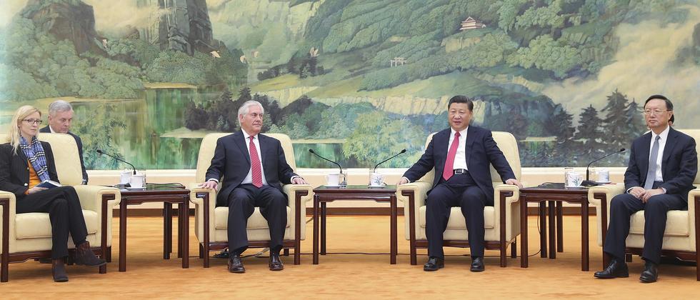 china-usa-trump-tillerson-nordkorea-besuch