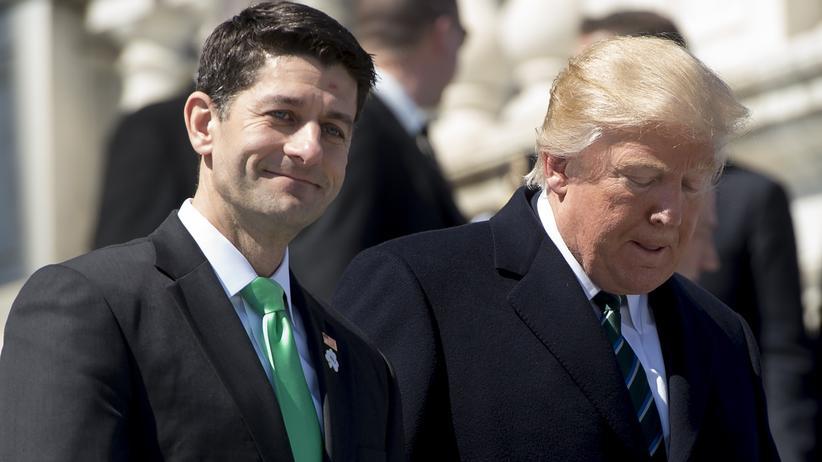 Obamacare-Niederlage: Jetzt droht Trump ein Scheitern der Steuerreform