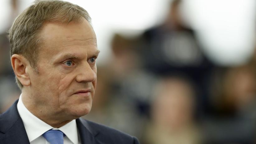 Polen: Donald Tusk, gerade wiedergewählter EU-Ratspräsident
