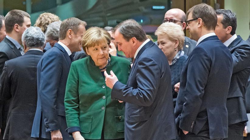 EU-Gipfel Merkel Gemeinschaft