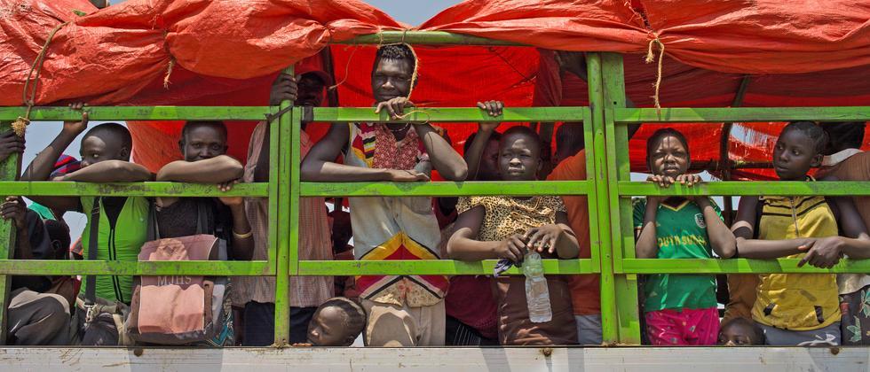 Fluchtbewegungen innerhalb Afrikas