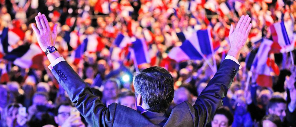 Frankreich Wahl Europa