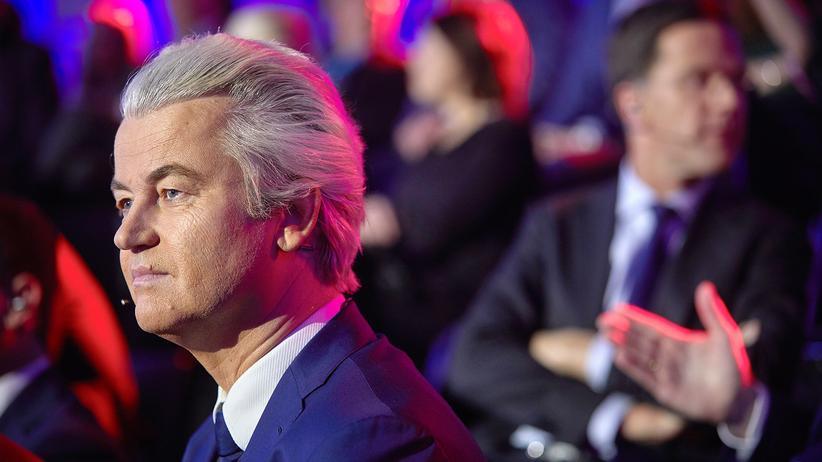 Wahl in den Niederlanden: Der Rechtspopulist Geert Wilders erhielt bei der Wahl in den Niederlanden weitaus weniger Stimmen als vorhergesagt.