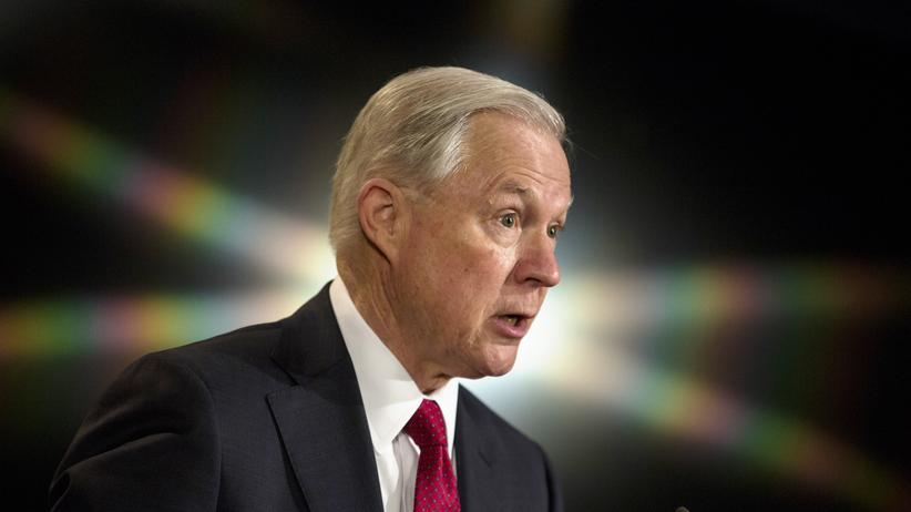 USA: Der US-Justizminister Jeff Sessions