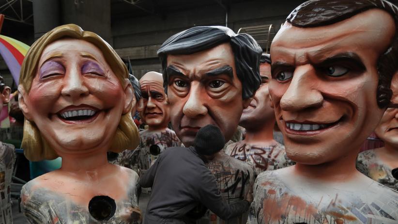 Le Pen Macron