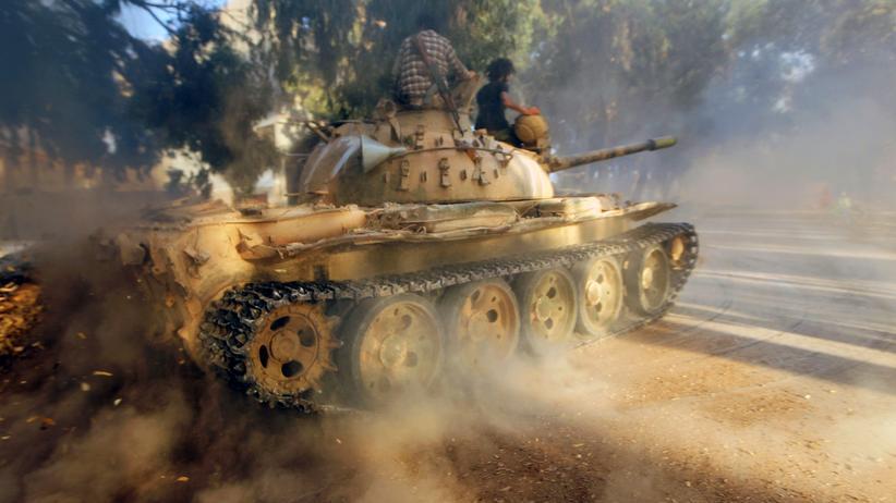 Ägypten: Soldaten von General Haftars Armee nahe Bengasi