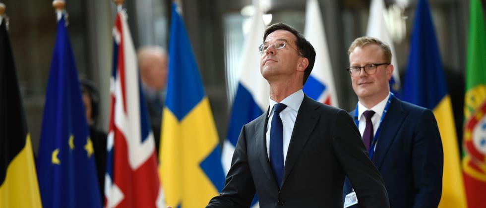 Der niederländische Ministerpräsident Mark Rutte.