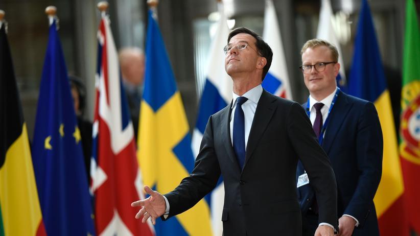 Niederlande: Der niederländische Ministerpräsident Mark Rutte.