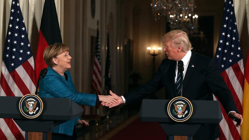 Merkel bei Trump: Nur ein Etappensieg der Vernunft