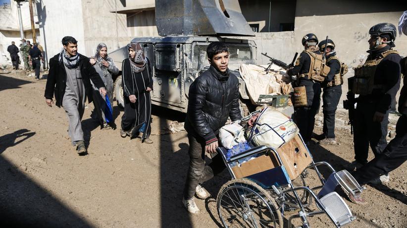 Irak: Militär unterbricht Angriff auf Mossul