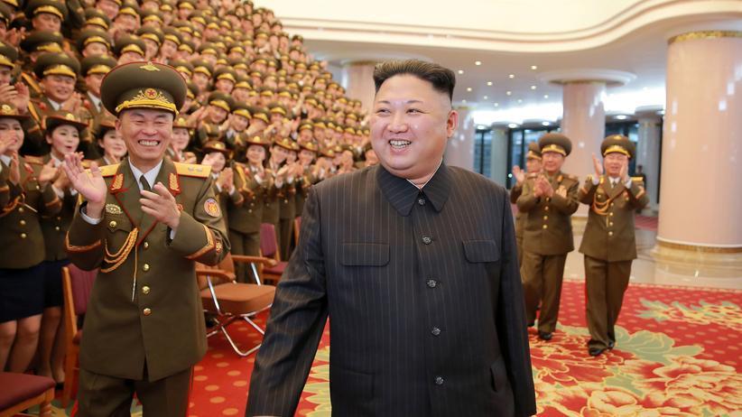 Präsident Kim Jong Un treibt die Raketenforschung in Nordkorea voran.