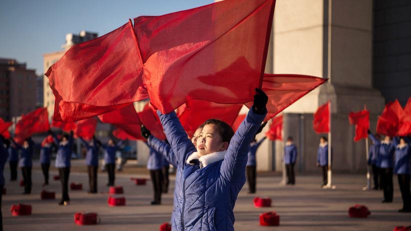 Rex Tillerson: Auftritt einer Propagandatruppe in Pjöngjang