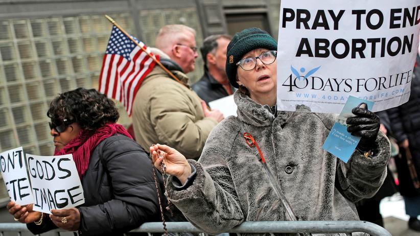 Planned Parenthood: Abtreibungsgegner in New York