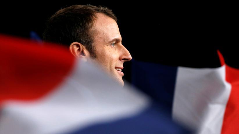Präsidentschaftswahl in Frankreich: Der unabhängige Präsidentschaftskandidat Emmanuel Macron