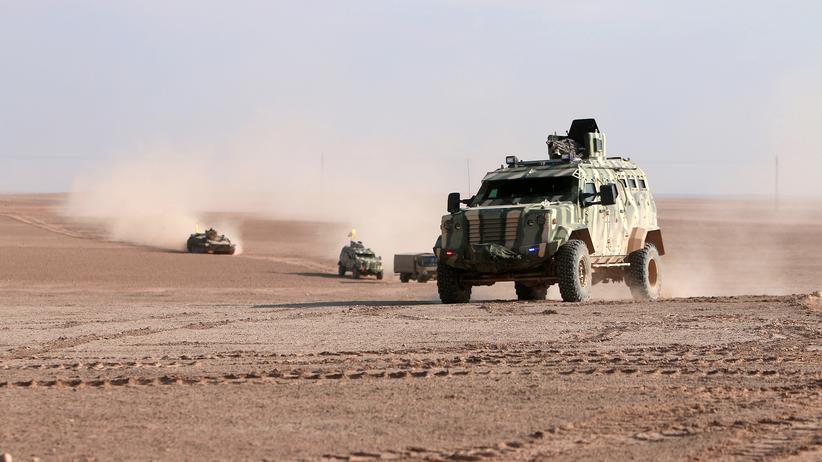 Syrien: Syrisch-kurdische Kräfte in der Provinz Rakka