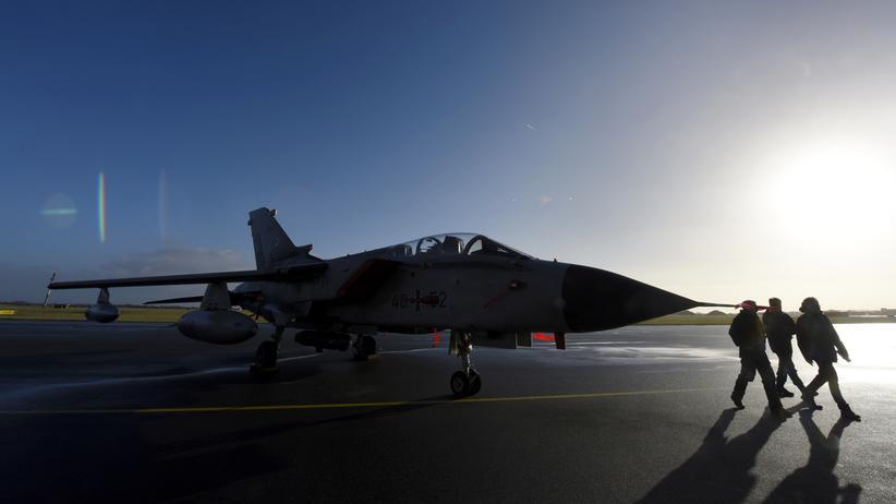 Wehretat: Tornado der Luftwaffe in Jagel