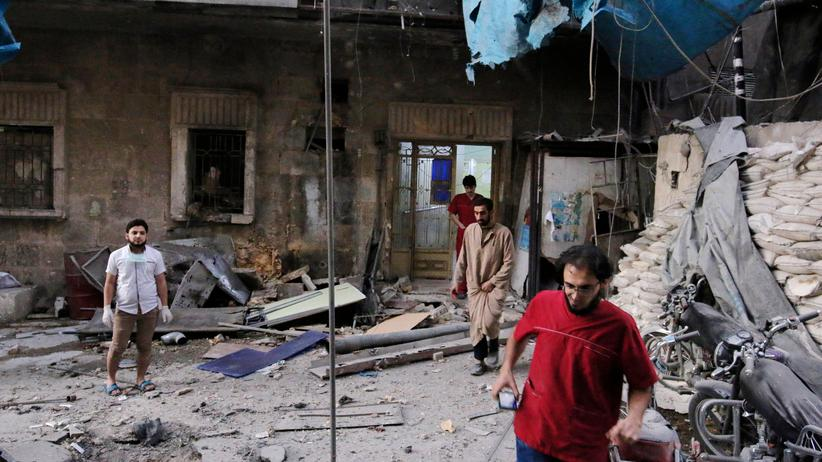 """Syrien: Der Fachzeitschrift """"The Lancet"""" zufolge sind viele Angriffe auf das syrische Gesundheitswesen """"strategisch""""."""