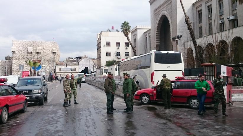 Syrien: Viele Tote bei Anschlägen in Damaskus