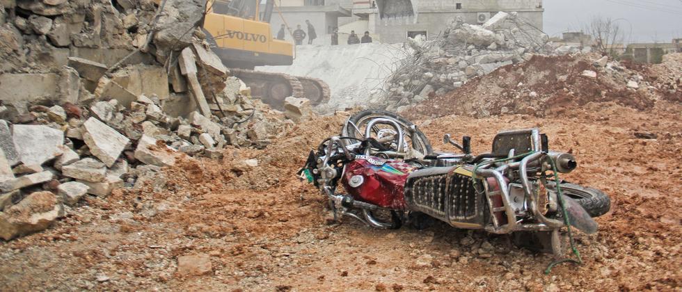 Syrien Luftangriff