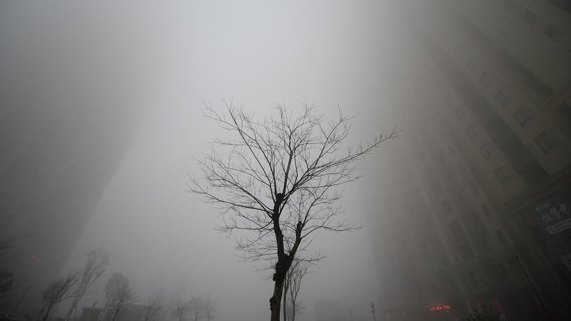 US-Haushaltsplan: Smog in der chinesischen Großstadt Jinan