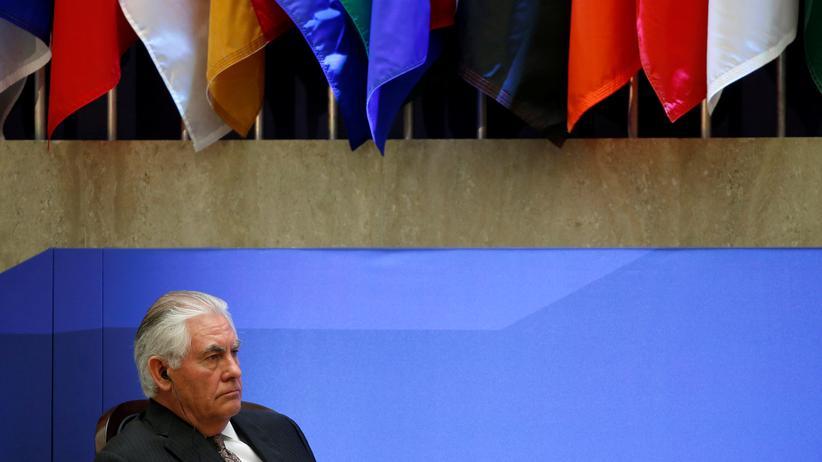 """""""Islamischer Staat"""": Der amerikanische Außenminister Rex Tillerson"""