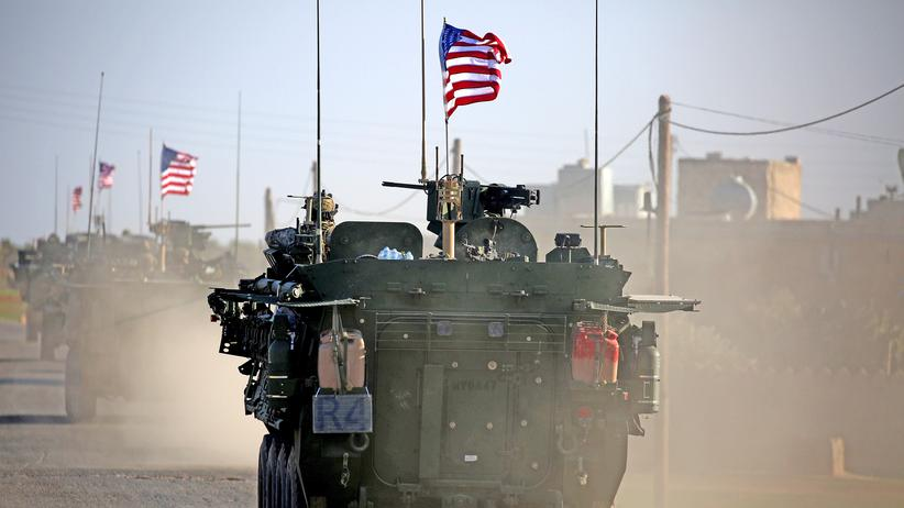 US-Militär Soldaten Syrien