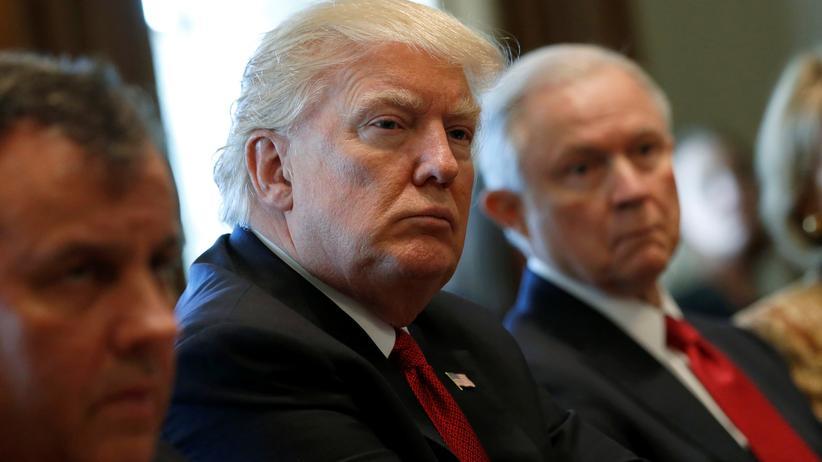 Einreiseverbot: US-Präsident Donald Trump
