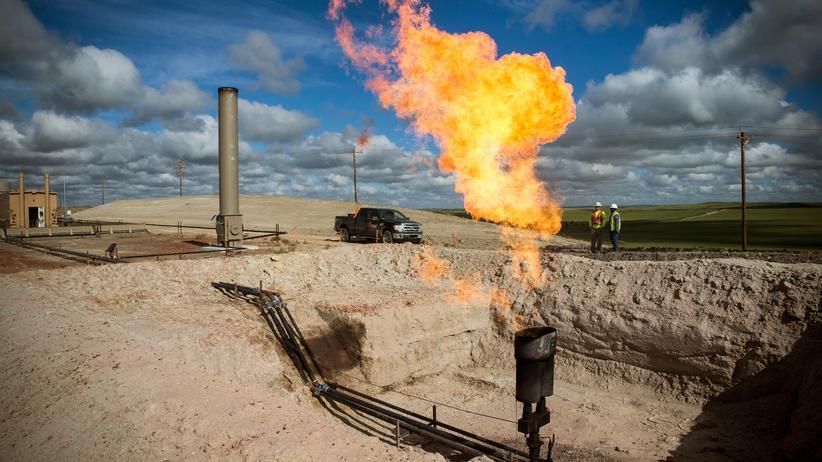 USA: Ölgewinnung in North Dakota, USA
