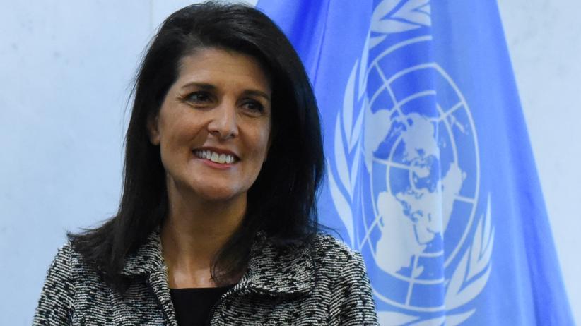 Syrien: Die UN-Botschafterin der USA, Nikki Haley