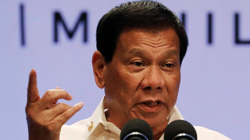 Philippinen: Der philippinische Präsident Rodrigo Duterte