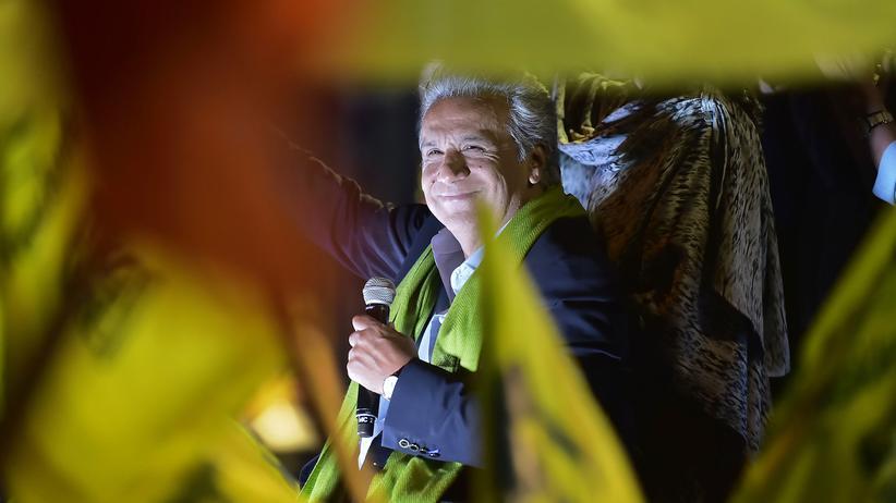 Ecuador: Lenín Moreno vor Verkündung des offiziellen Wahlergebnisses