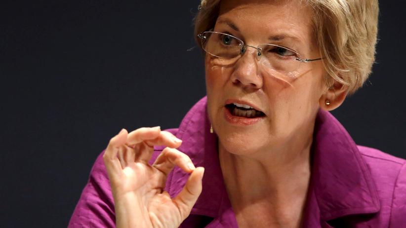"""USA: Trump nennt Elizabeth Warren erneut """"Pocahontas"""""""