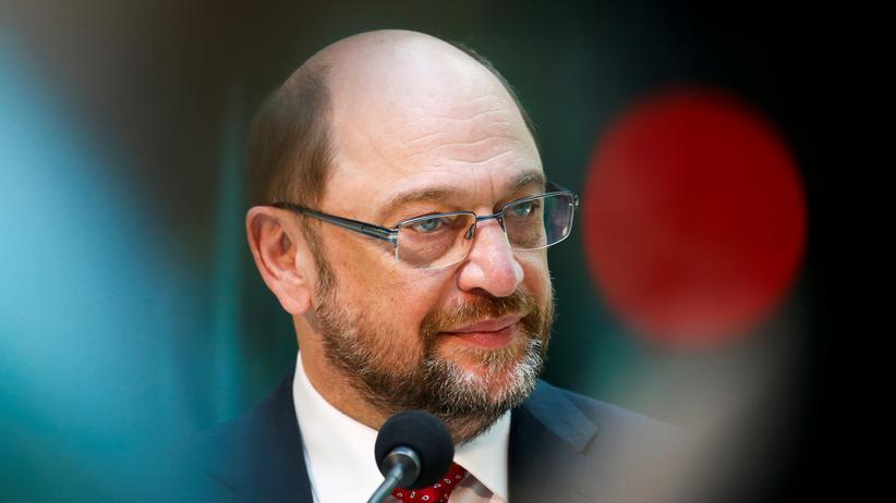 Europaparlament: SPD-Chef und Kanzlerkandidat Martin Schulz