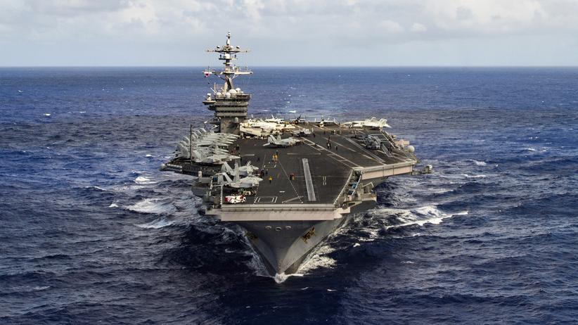 """""""USS Carl Vinson"""": Die USS Carl Vinson ist auf dem Weg Richtung Nordkorea"""